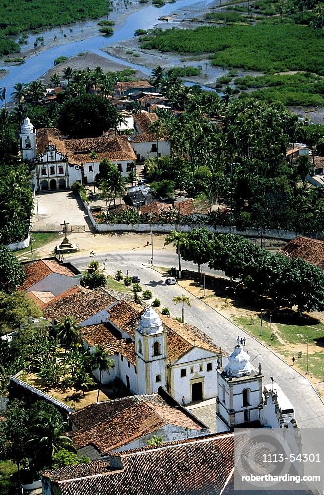 Dos Santos chucrh, oldest brasilian church, Igarassu, Pernambuco, Brazil