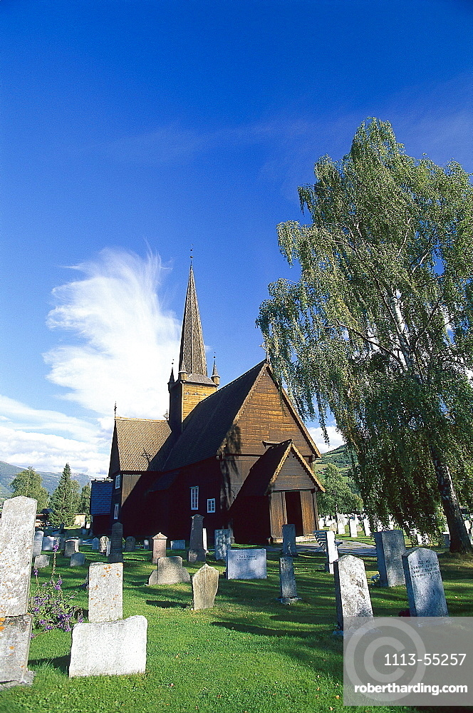 Stave Church, Vaga, Western Middle Norway