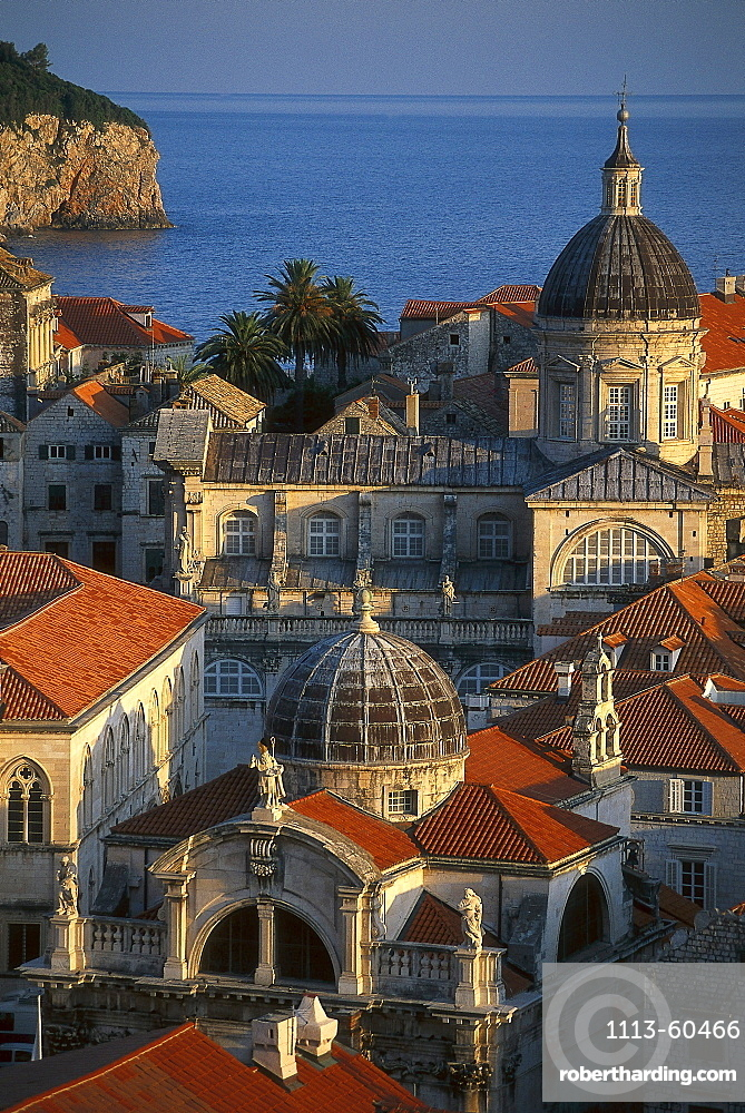 View of Old Town, Dubrovnik Croatia