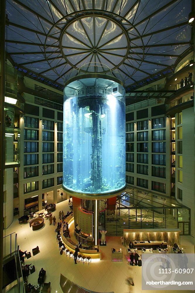AquaDom, Radisson SAS Hotel, Berlin, Germany