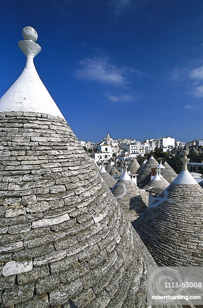 Trulli Houses, Zona monumentale, Alberobello, Apulia, Italy