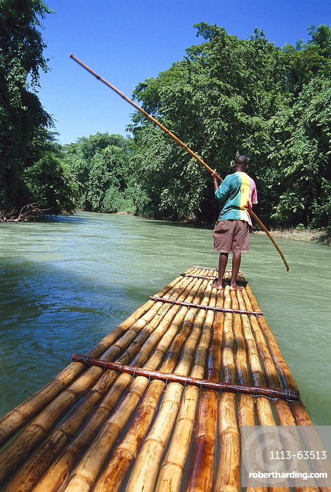 Martha Brae River Rafting, Jamaica, Caribbean