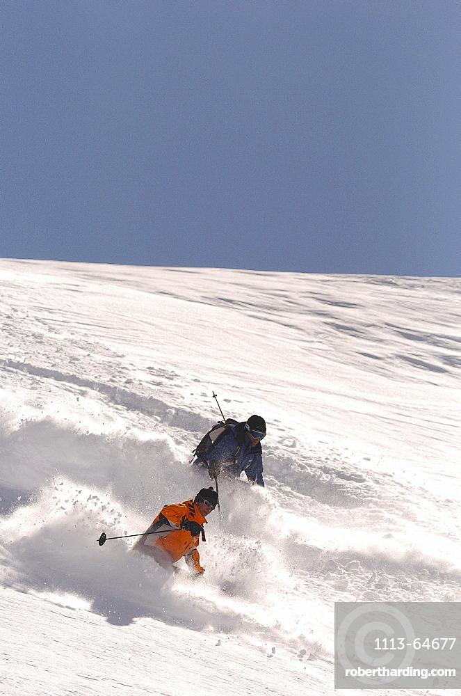 Skier, Stubai, Austria