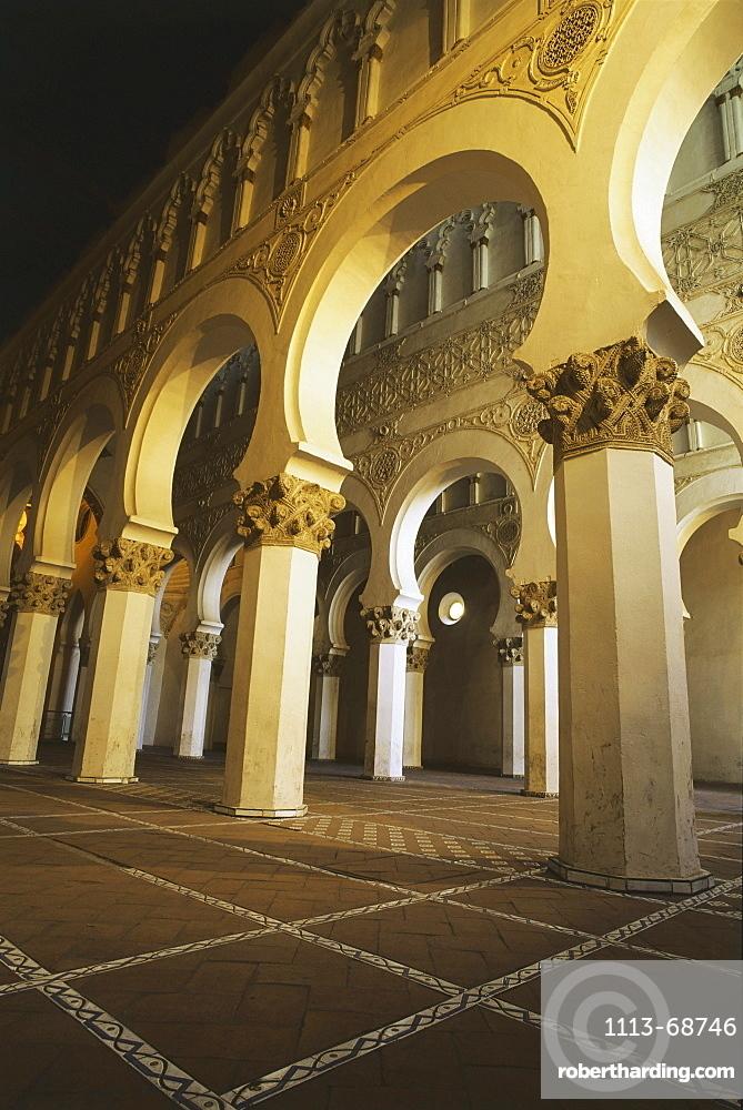 Synagogue Santa Maria la Blanca, Toledo, Castilla-La Mancha, Spain93