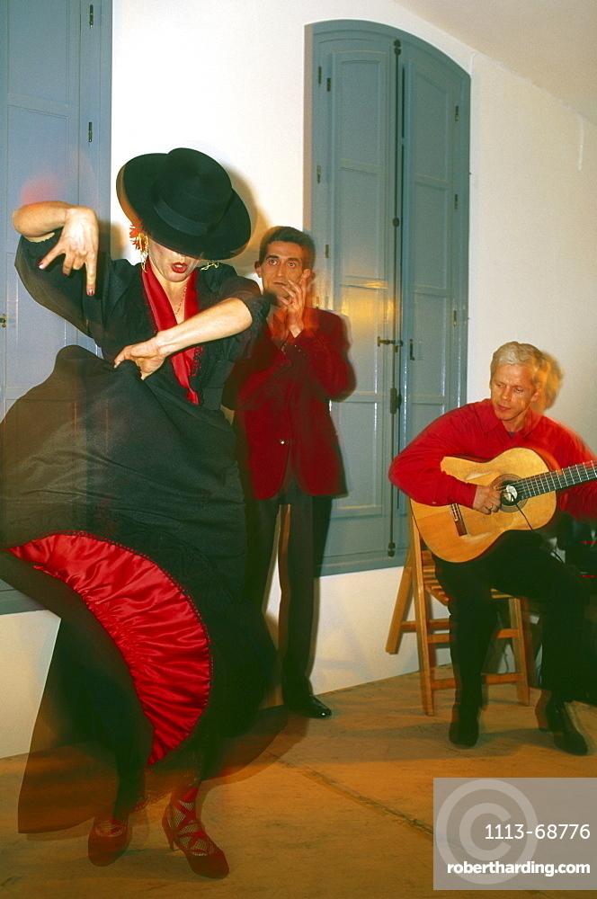 Flamenco dancer, Sevilla, Andalusia, Spain124