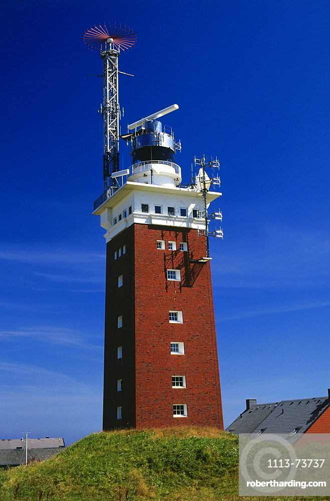 Lighthouse, Heligoland Island, North Sea, East Frisia, Germany