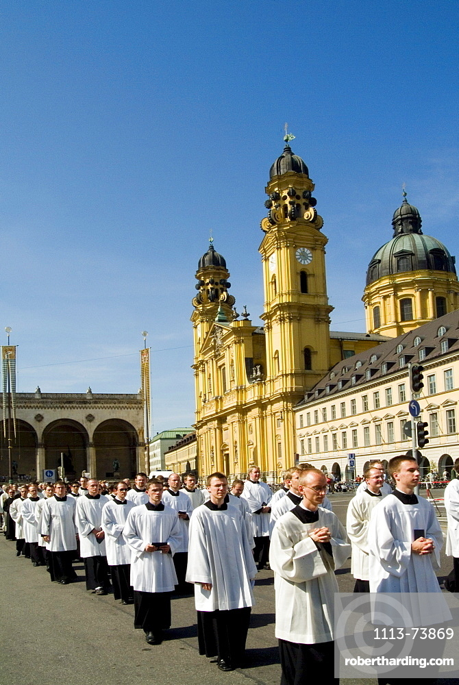 Feast of Corpus Christi, Munich, Bavaria, Germany