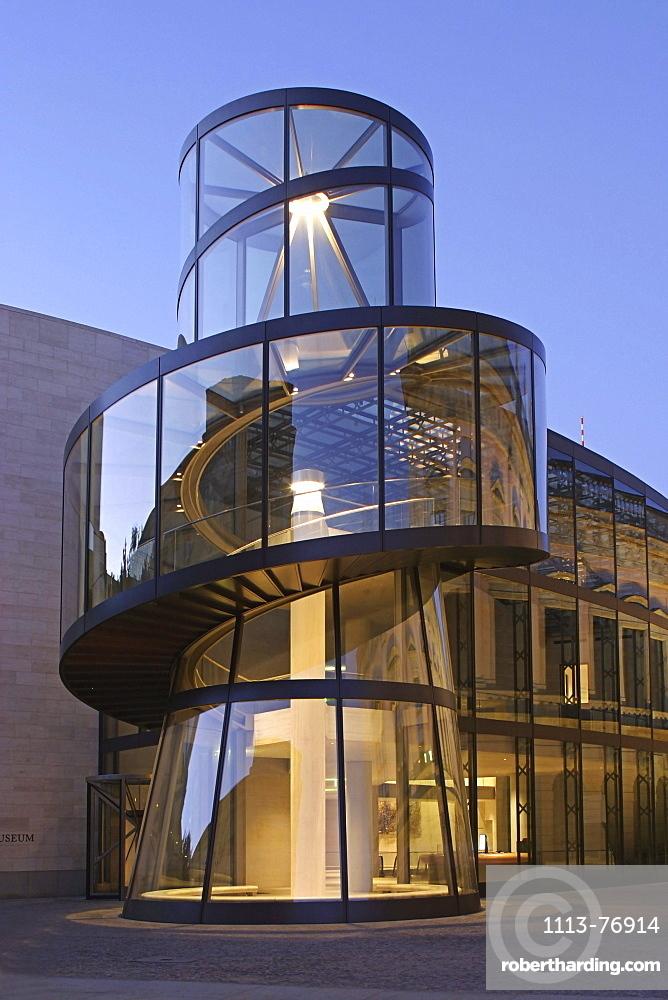 Detail of the German History Museum, Mitte, Berlin