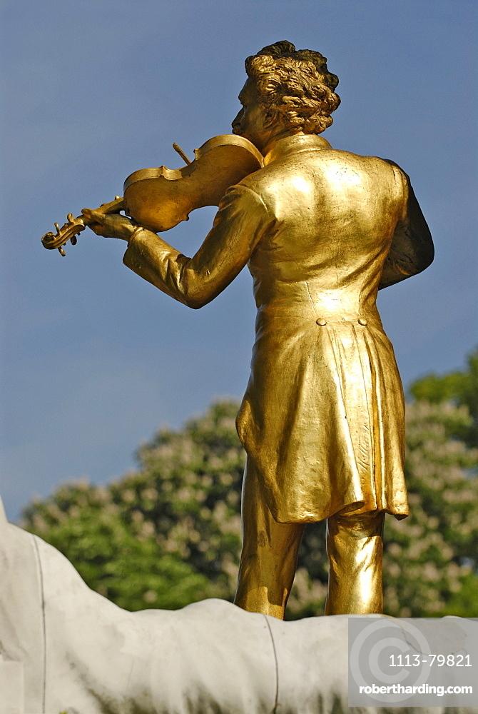Johann Strauss memorial, Vienna, Austria