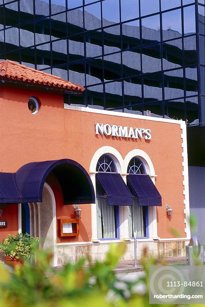 Restaurant Norman's, Coral Gables, Miami, Florida, USA