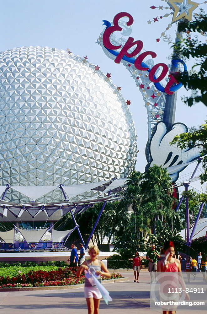 Epcot Center, Disneyworld, Orlando, Florida, USA