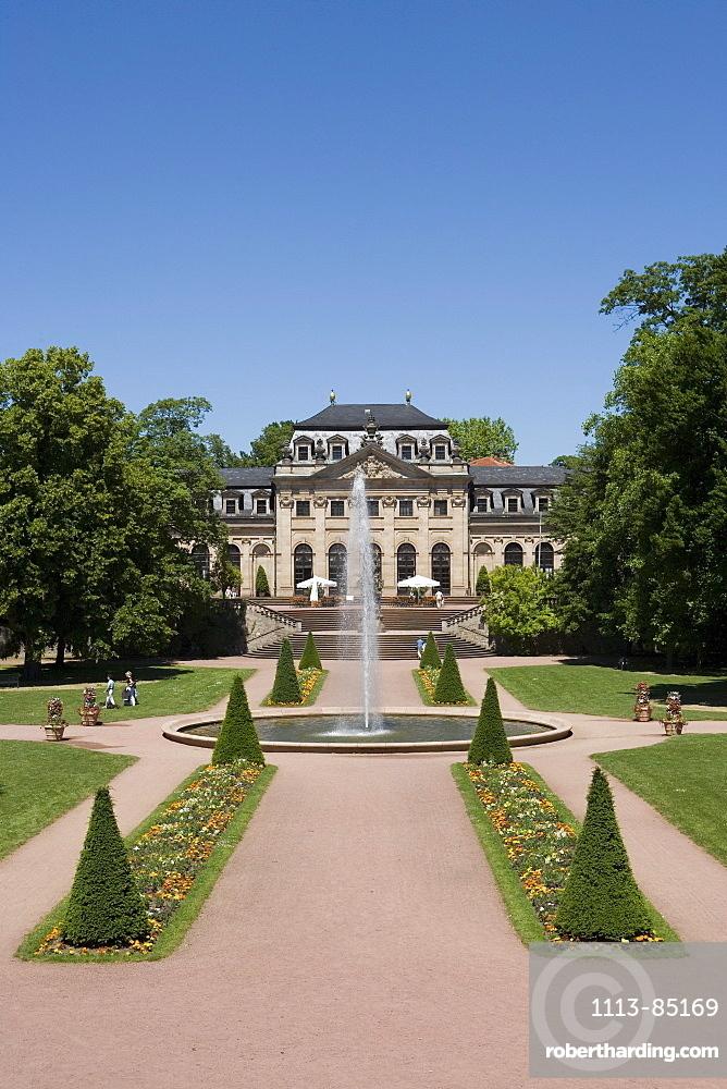 Fulda Stadtschloss City Castle, Fulda, Hesse, Germany