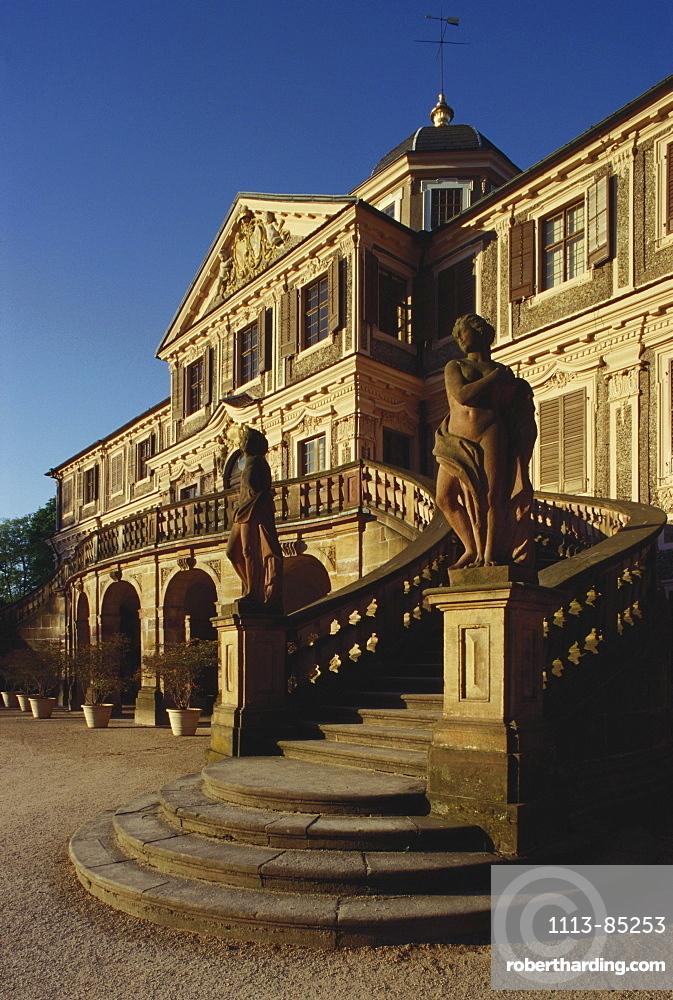 Schloss Favorite near Rastatt, Baden Wuerttemberg, Germany, Europe