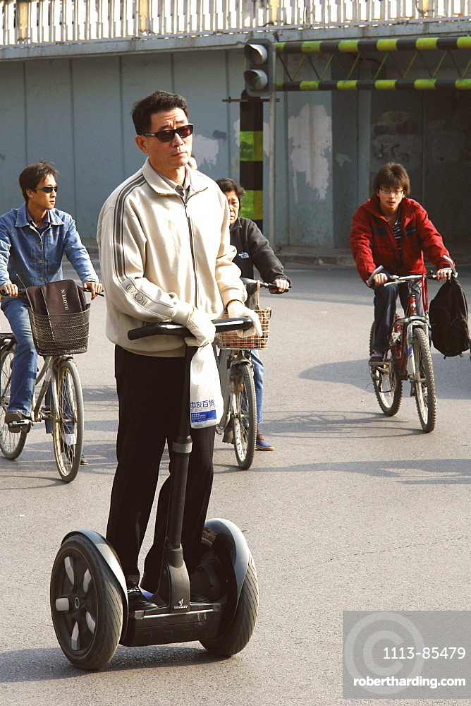 Segway Driver in Beijing, China