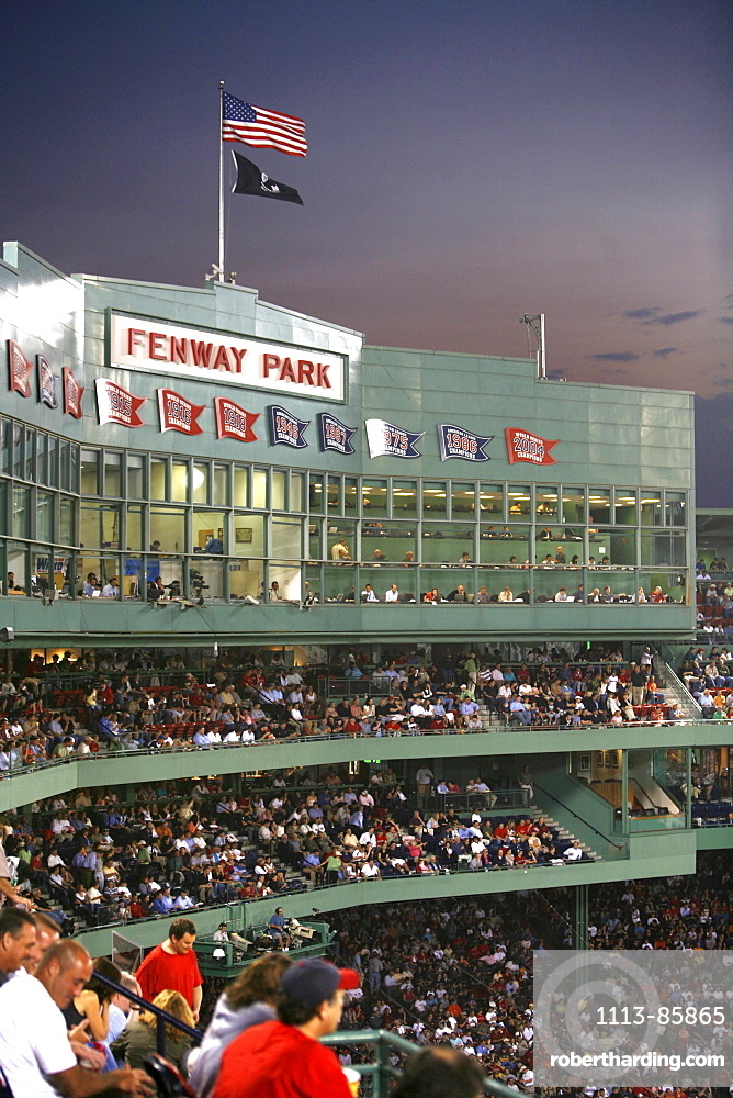 Fenway Park Baseball Stadium, Boston, Massachusetts, United States (USA)