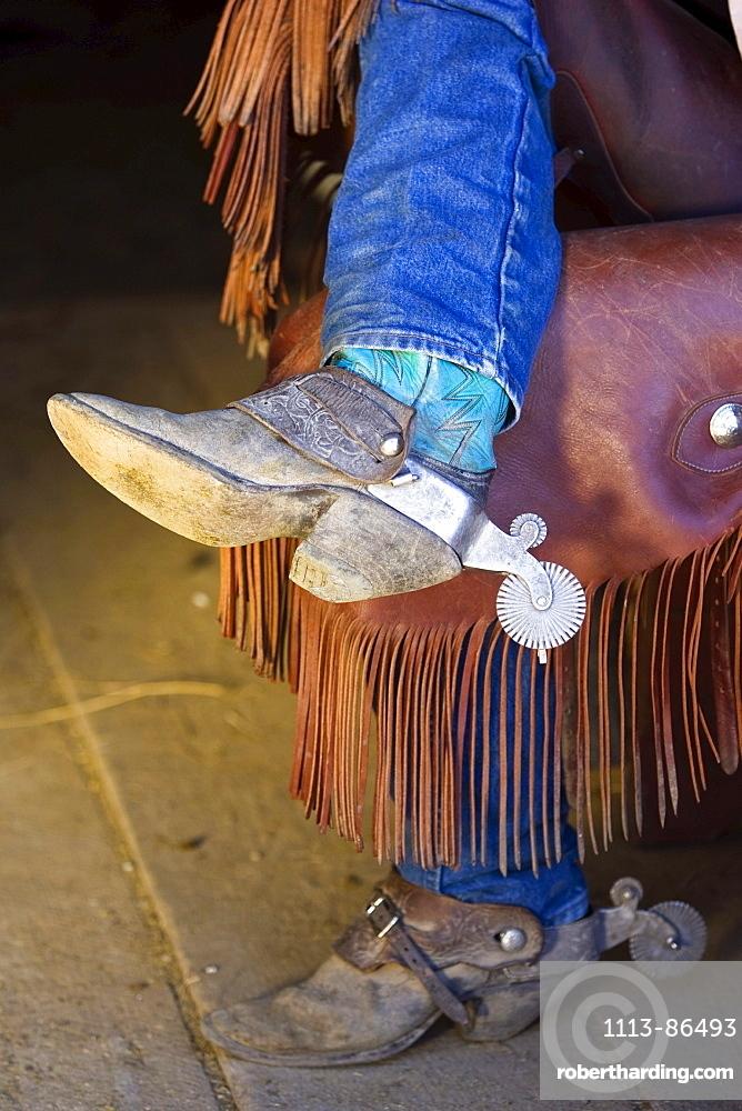 cowboy boots, wildwest, Oregon, USA