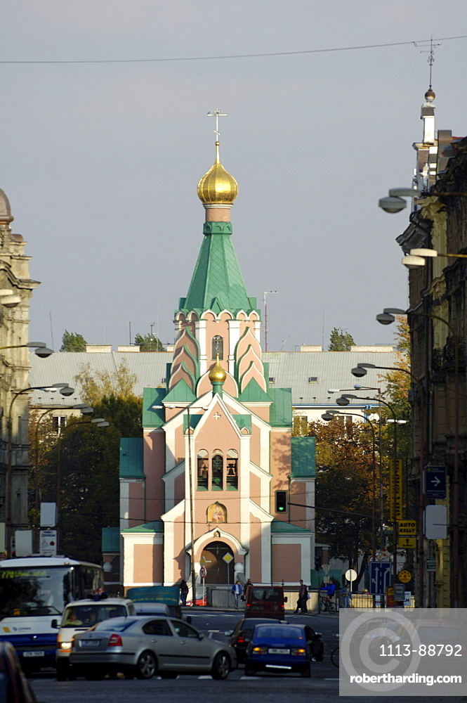 Orthodox church, Olomouc, Olmuetz, Czech Republic