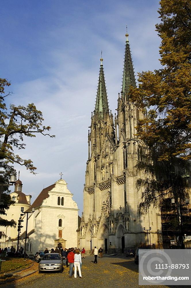 Wenzelsdom, cathedral, Olomouc, Olmuetz, Czech Republic