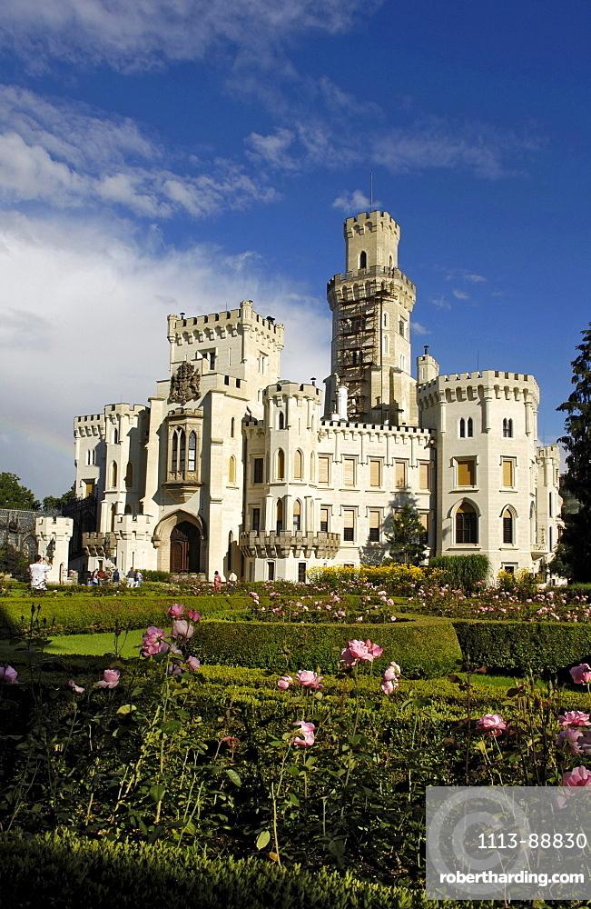 Castle Hluboka near Budweis, Czech Republic