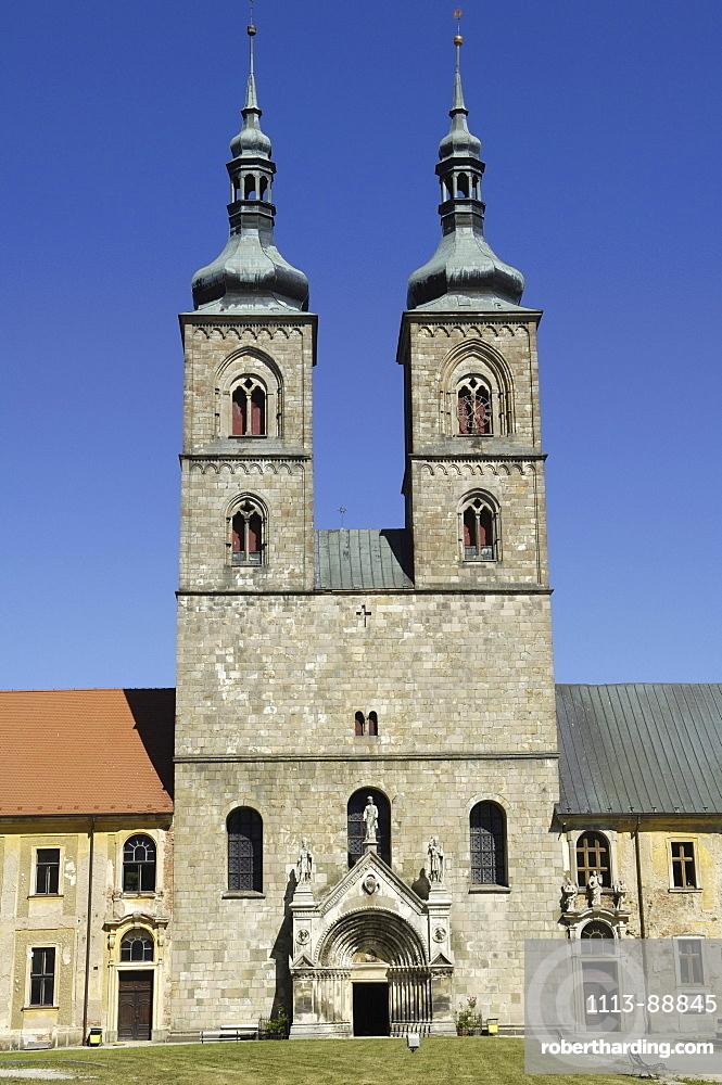 Minster near Tepla, Czech Republic