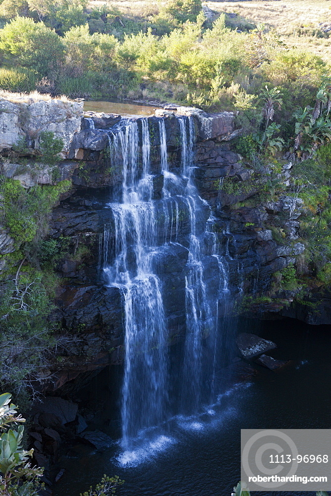 Waterfall at Wild Coast, Mbotyi, Eastern Cap, South Africa