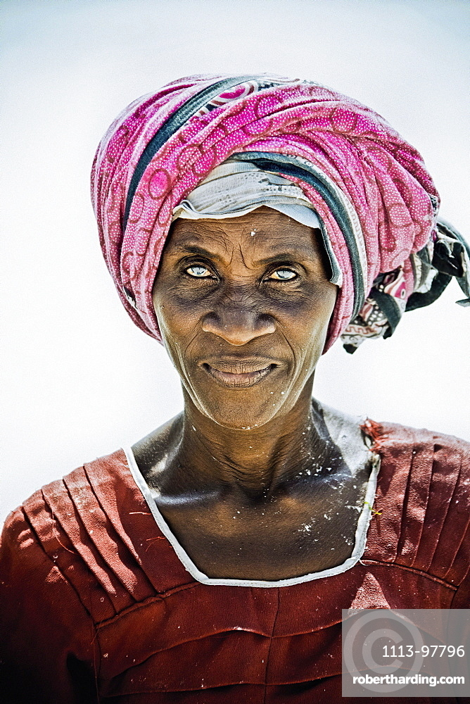 Elderly woman, Zanzibar, Tanzania, Africa