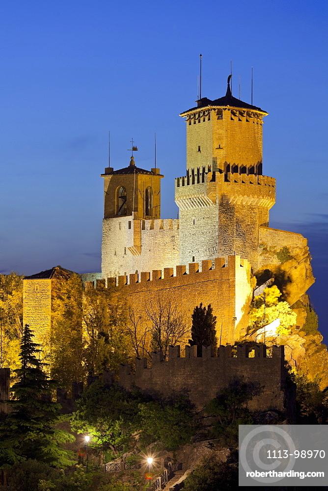 La Guaita fortress, First Tower, Monte Titano Republic of San Marino