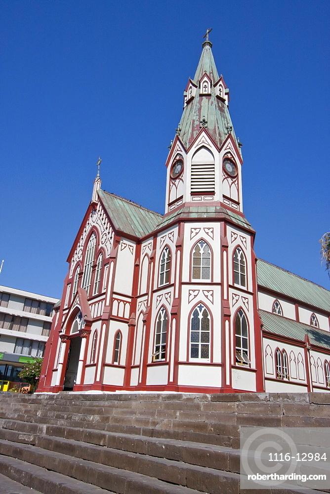 San Marcos Church, designed by Gustave Eiffel, Arica, Arica & Parinacota Region, Chile