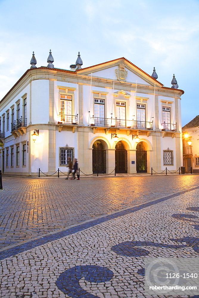 Faro Town Hall, Faro, Eastern Algarve, Algarve, Portugal, Europe
