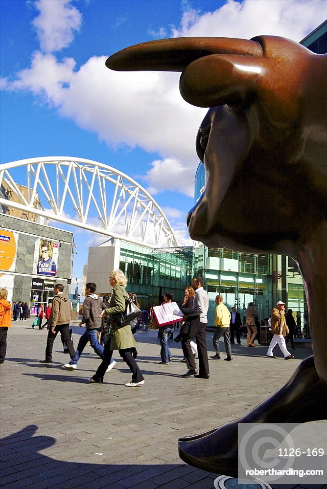 Bullring Shopping Centre, Birmingham, West Midlands, England, United Kingdom, Europe