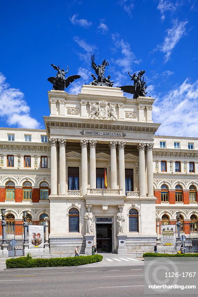 Palace of Fomento, Madrid, Spain, Europe