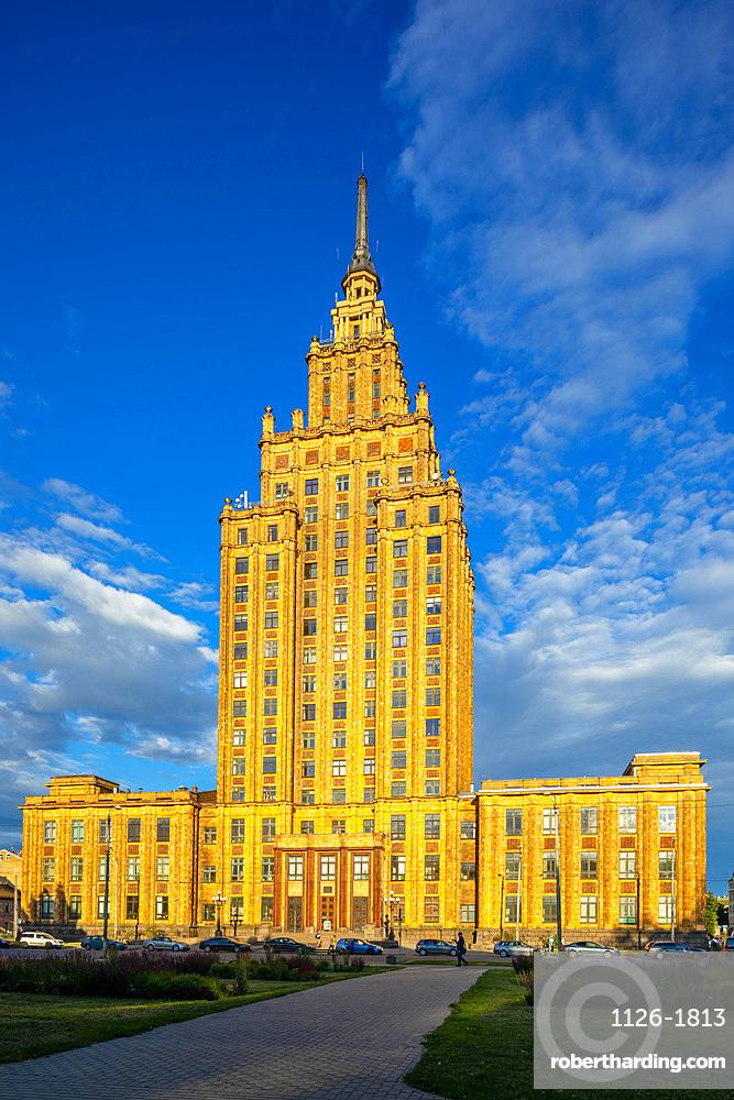 Academy of Sciences Building, Riga, Latvia, Europe
