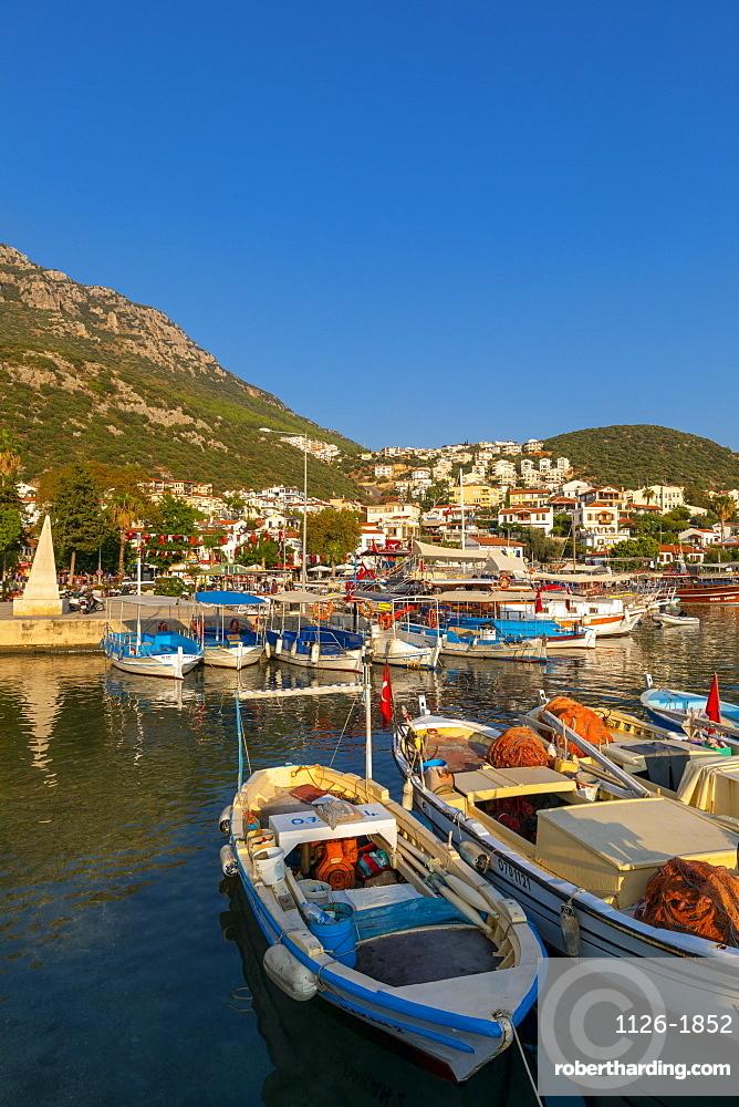 Kas Harbour, Kas, Turkey