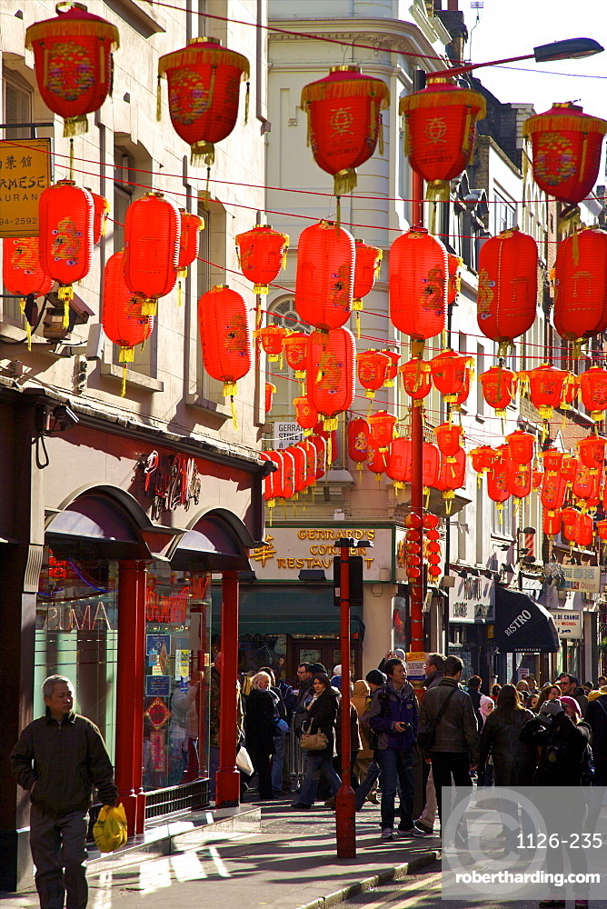 Chinese New Year Celebrations in Chinatown, London, England, United Kingdom, Europe