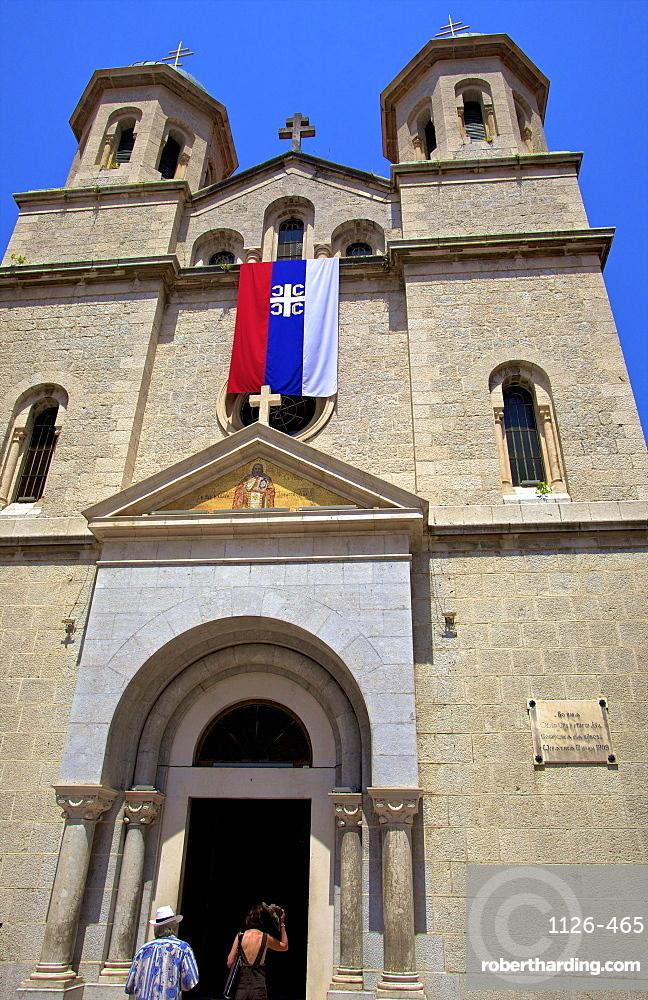 Church of St. Nicholas, Kotor, UNESCO World Heritage Site, Montenegro, Europe,
