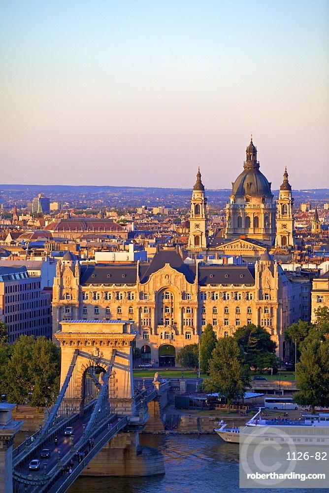 Budapest skyline, Budapest, Hungary, Europe