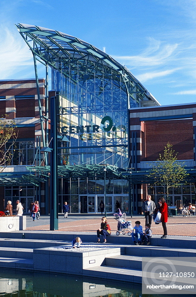 Shopping centre, CentrO, Oberhausen, North Rhine-Westphalia, Germany