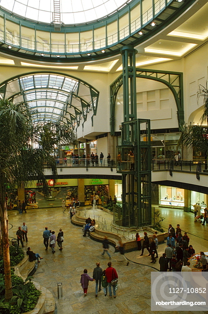 Shopping centre CentrO, Oberhausen, North Rhine-Westphalia, Germany