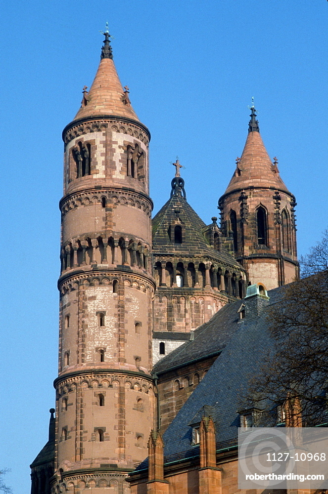 Cathedral St. Peter, Worms, Rhineland-Palatinate, Germany