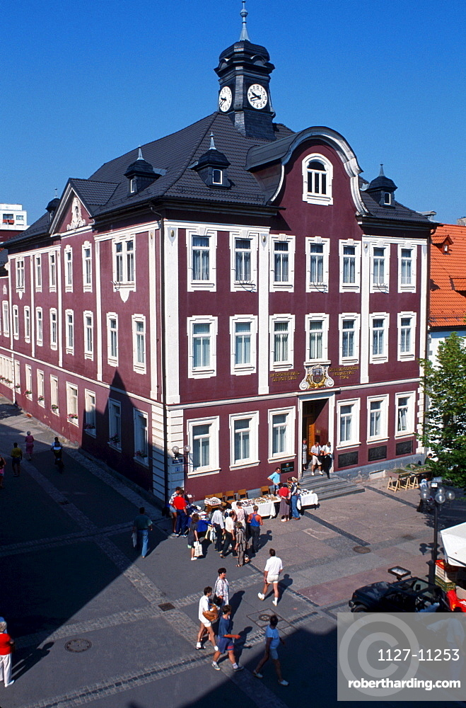 Townhall, Suhl, Thuringia, Germany