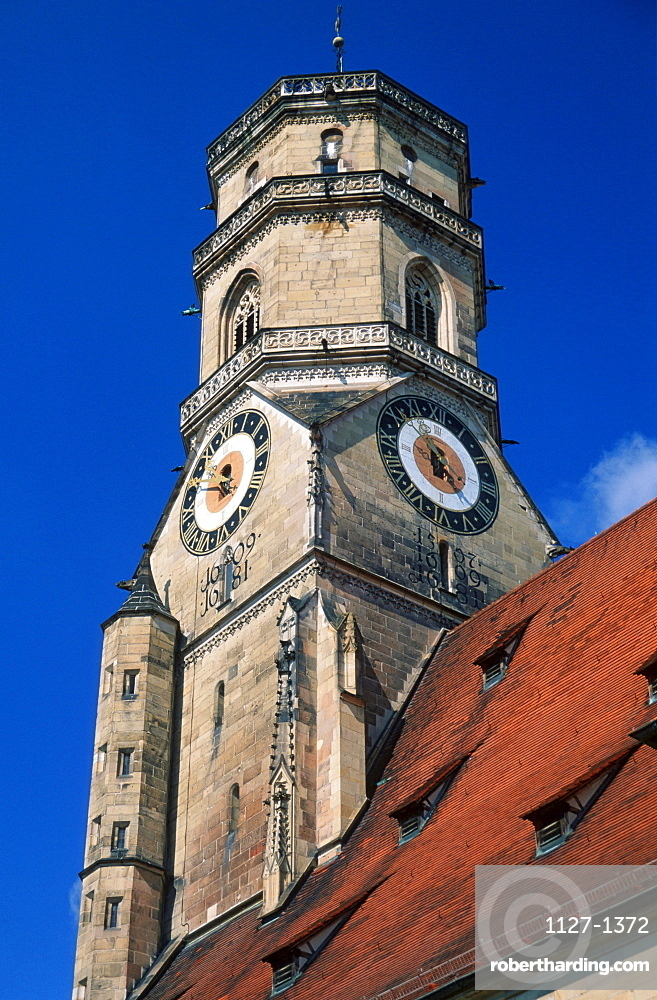 Collegiate Church, Stuttgart, Baden-Wurttemberg, Germany
