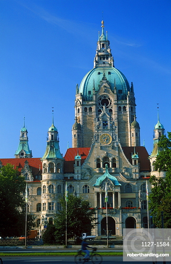 New Town Hall, Hanover, Lower Saxony, Germany