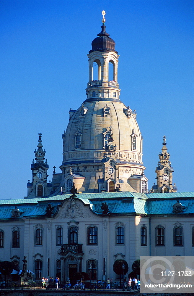 Church of Our Lady, Dresden, Saxony, Germany / Frauenkirche