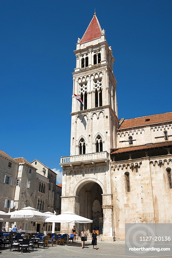 Cathedral of St. Lawrence, Old town, Trogir, Split-Dalmatia County, Croatia