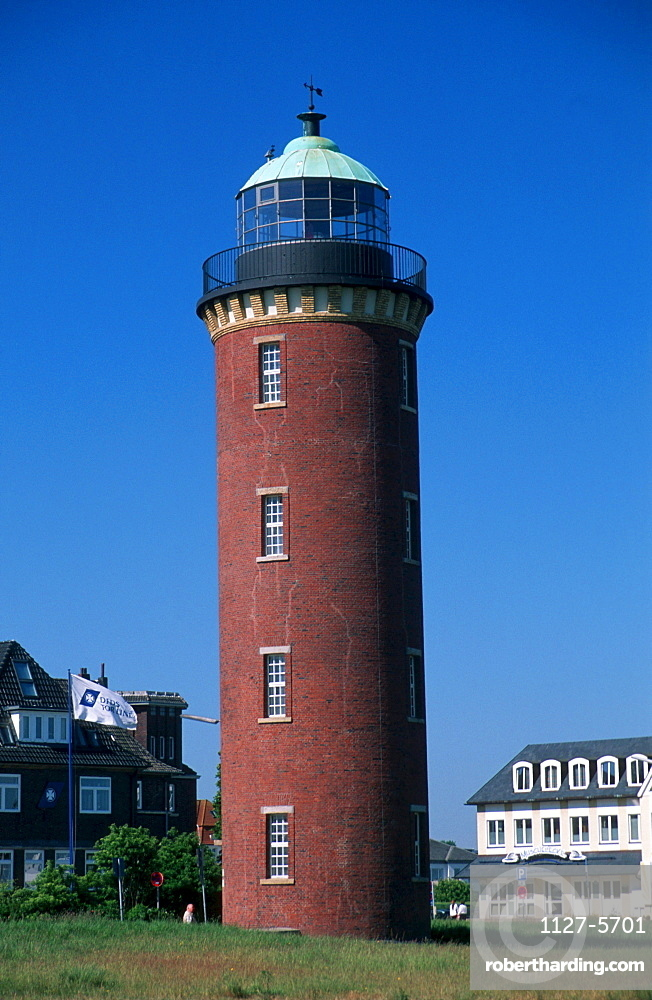 Lighthouse 'Old Love', Cuxhaven, Lower Saxony, Germany / 'Alte Liebe'