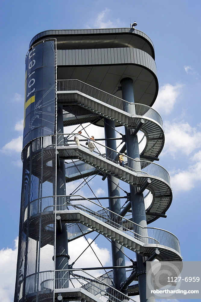 Observation tower, Mol, Flanders, Belgium