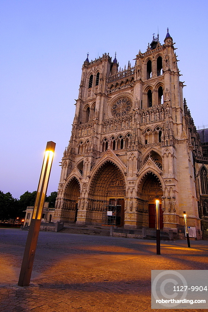 Cathedral Notre Dame, Amiens, Picardy, France / Way of St. James in France
