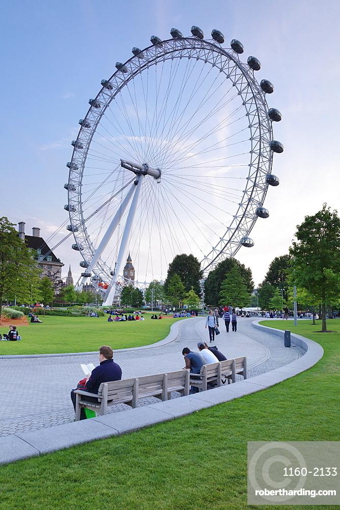 Millennium Wheel (London Eye), London, England, United Kingdom, Europe