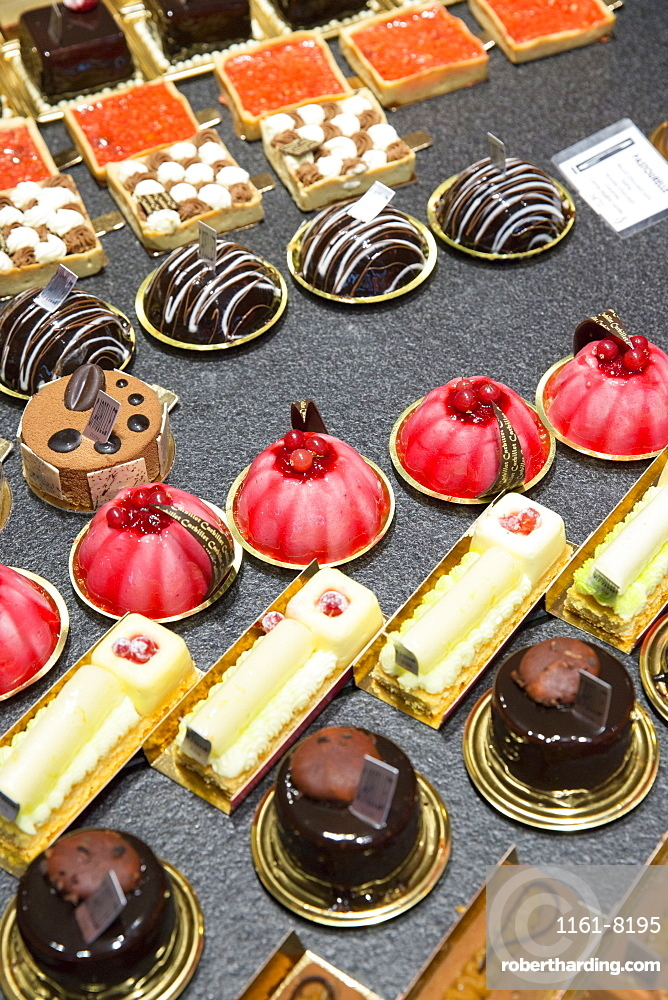 Patisserie and Chocolatier shop Carbillet in Rue des Forges in Dijon in the Burgundy region of France, Europe