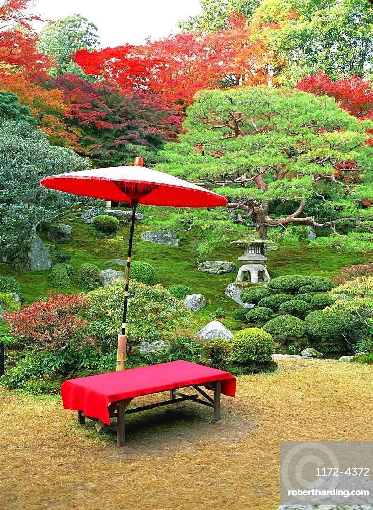 Old Chikurin-in Garden, Shiga, Japan